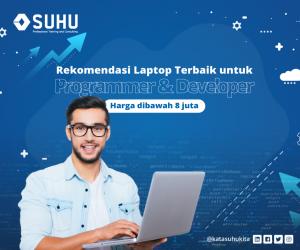 Rekomendasi Laptop Terbaik untuk Programmer & Developer Harga dibawah 8 Juta