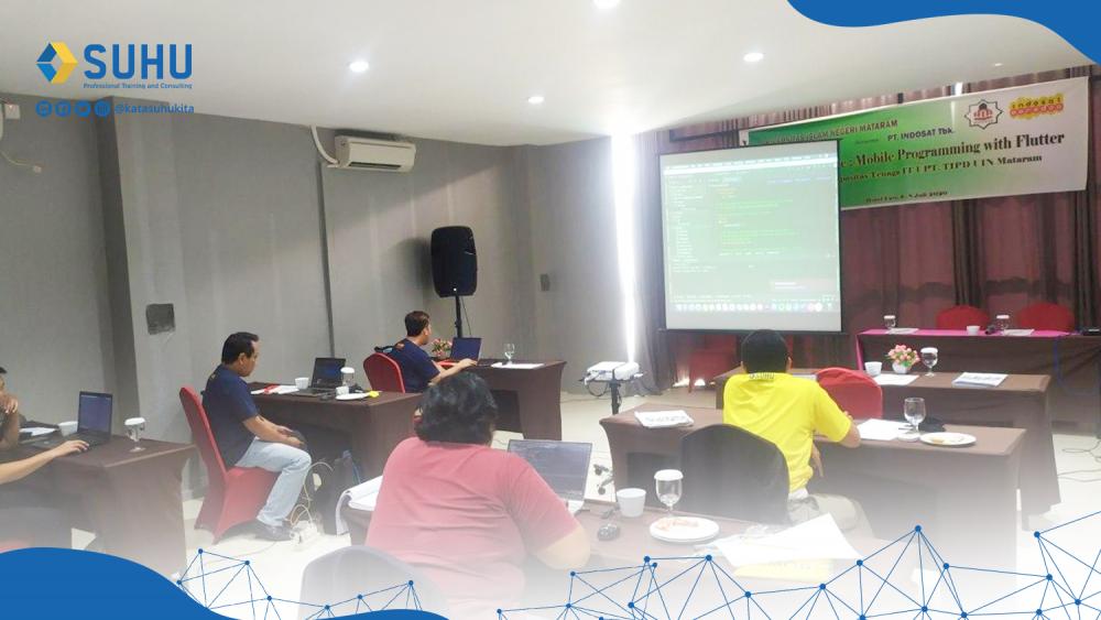 Pelatihan Mobile Programming with Flutter UIN Mataram